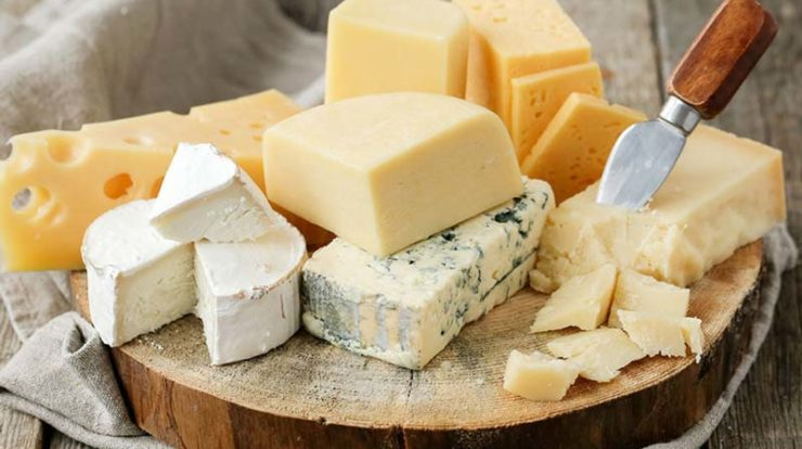 Nutritional value of cheese